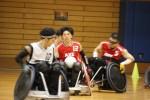 ウィルチェアーラグビー日本選手権予選リーグ