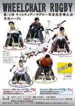 ウィルチェアーラグビー日本選手権大会・予選リーグ